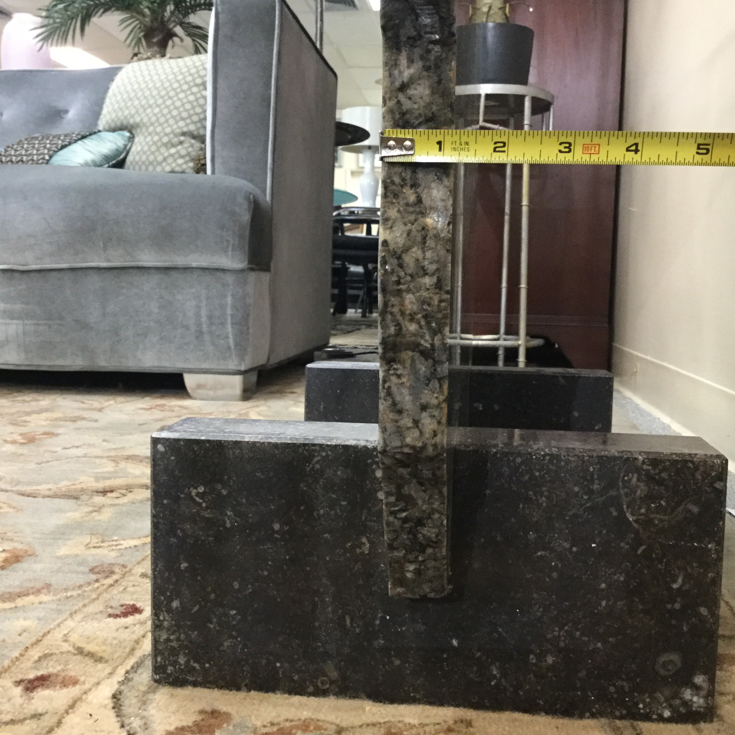 Modern Granite Console Table For Sale   Image 12 Of 13