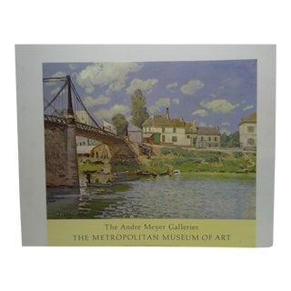 """The Bridge at Villeneuve: La Garenne"" by Alfred Sisley Print"