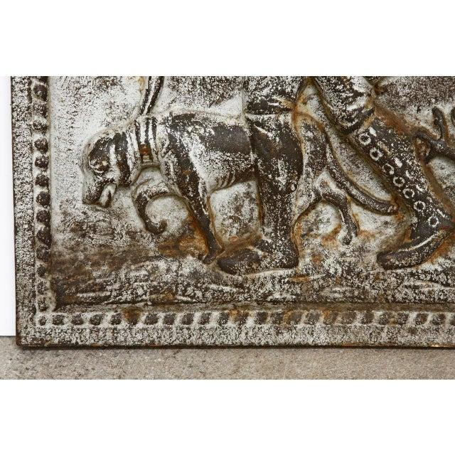 19th Century Cast Iron Hunt Plaque For Sale - Image 4 of 10