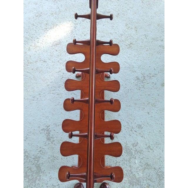 English Mahogany Hall Boot Rack For Sale - Image 4 of 4