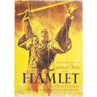 Hamlet 1948 Austrian A0 Film Poster For Sale