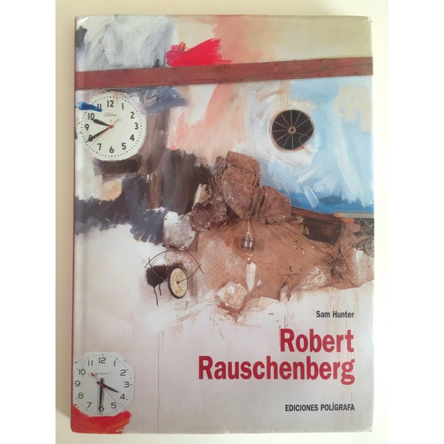 """""""Robert Rauschenberg"""" 1st Edition Vintage 1999 Collector's Art Book For Sale - Image 11 of 11"""