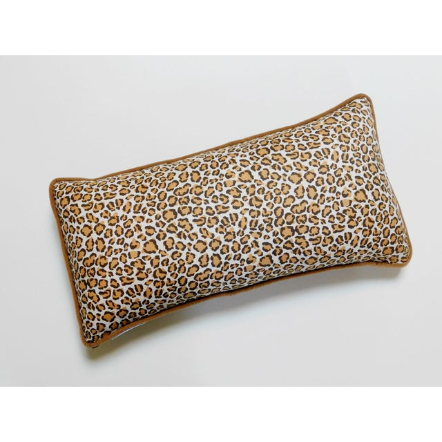 Textile Cheetah Print Lumbar Pillow For Sale - Image 7 of 7