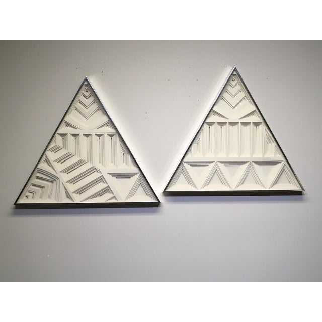 1970s Vintage Greg Copeland Paper Wall Art Sculptures - a Pair For Sale - Image 11 of 11
