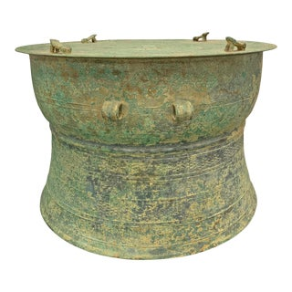 Dong Son Bronze Drum, 300 Bc For Sale
