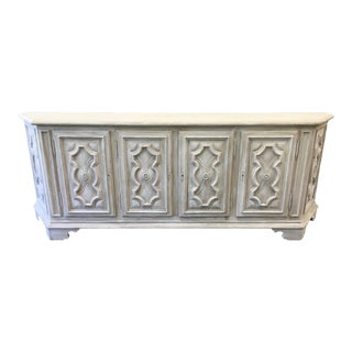 Italian Painted Credenza Sideboard - 20th C For Sale