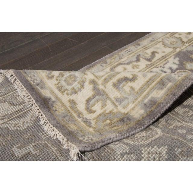 """Traditional Apadana - 21st Century Oushak Style Rug, 2'7"""" x 19'9"""" For Sale - Image 3 of 8"""