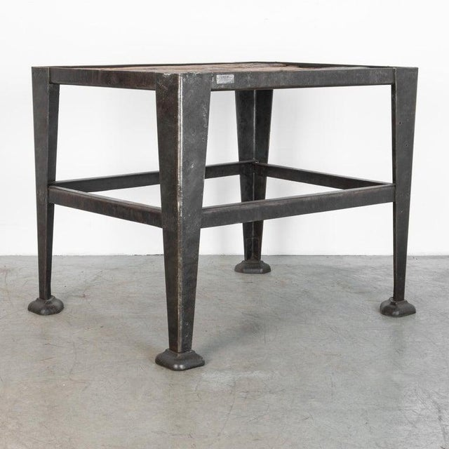 1950s Mid-20th Century Industrial Czech Table For Sale - Image 5 of 7