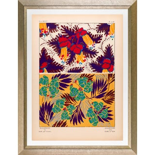 """Framed E. A. Seguy Print, """"Suggestions"""" Plate No. 15 For Sale"""