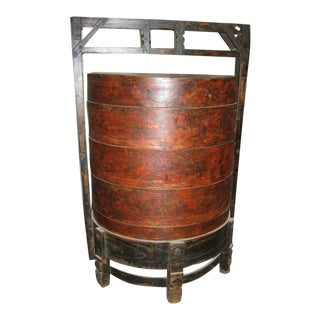 Antique Chinese Food Box For Sale