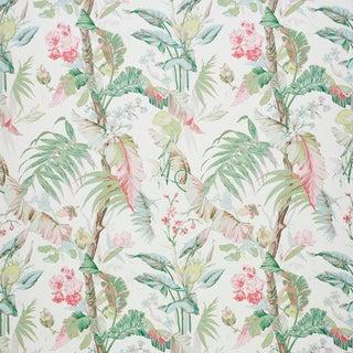 Schumacher Tropique Wallpaper in Blush (8 Yards) For Sale