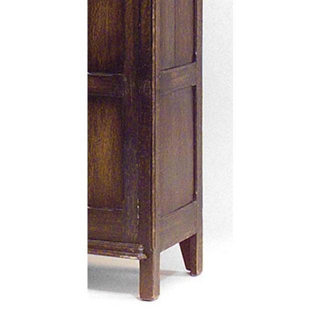 Renaissance Revival English Renaissance Style '19th Century' Armoire Cabinet For Sale - Image 3 of 4