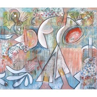 """""""Walk It Like I Talk It"""" Original Artwork by Bruce Rubenstein For Sale"""