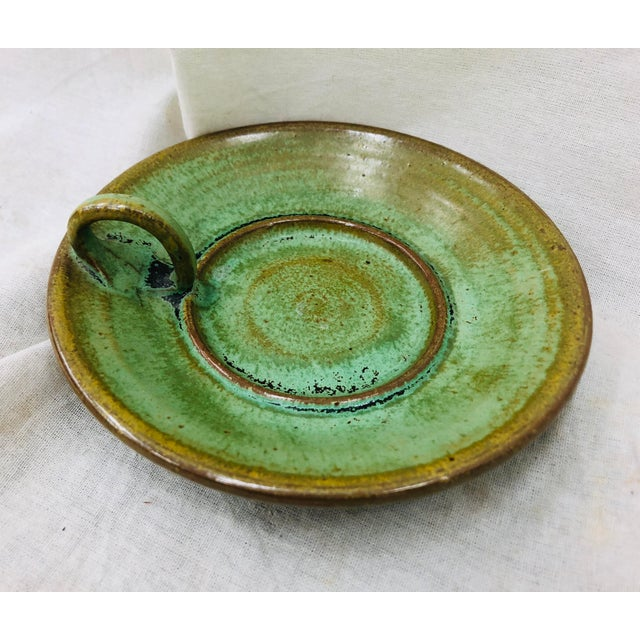 Hand Made Pottery Dish For Sale - Image 4 of 4
