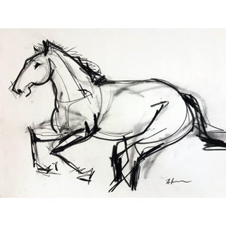 Horse Drawing #5 For Sale