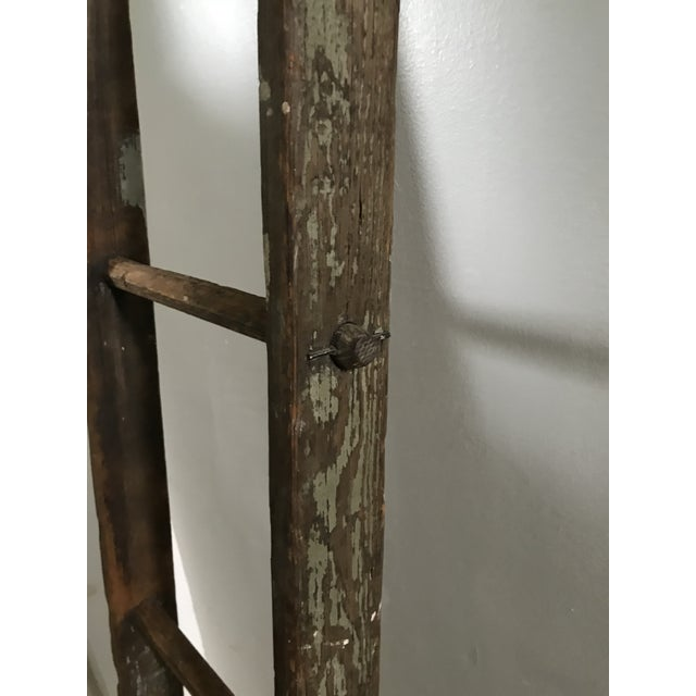 Metal 19th Century Barn Ladder From Apple Farm For Sale - Image 7 of 8