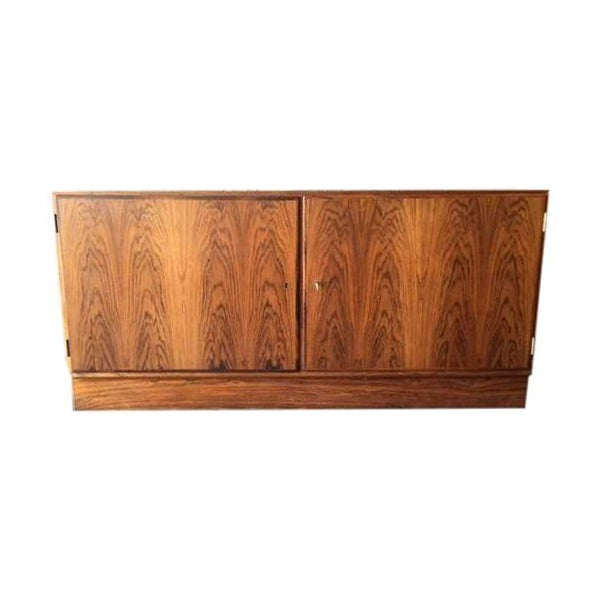 Danish Modern Rosewood Cabinet - Image 1 of 8