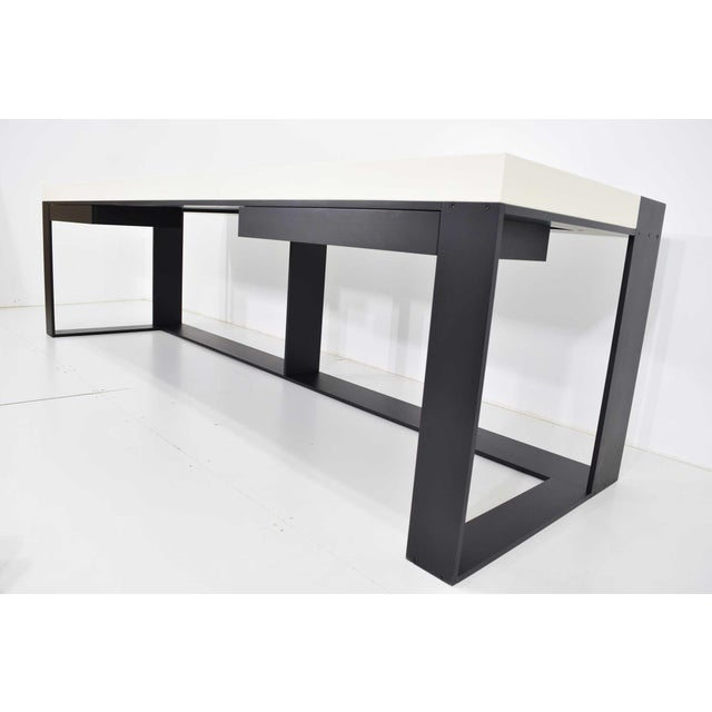 Christian Liaigre Connectable Leather Desk For Sale In Dallas - Image 6 of 12