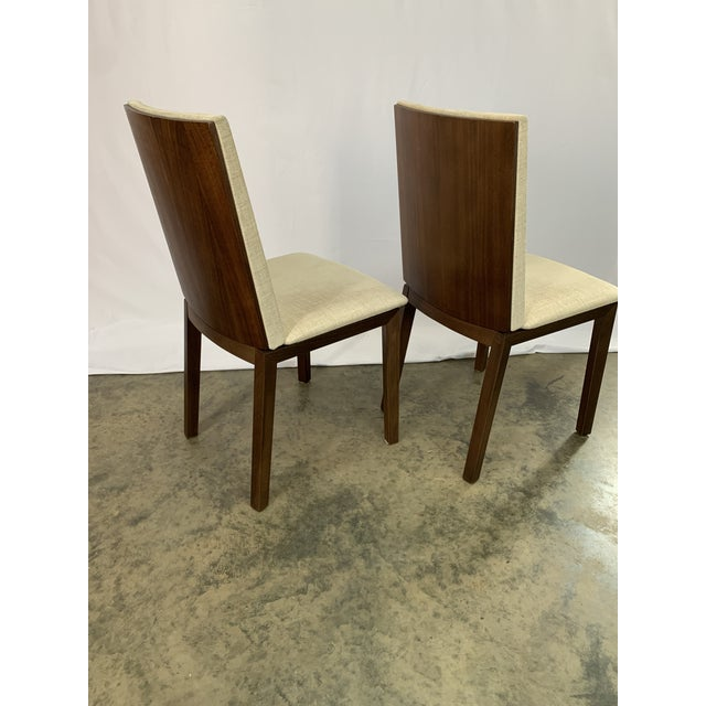 Wood Danish Modern Skovby Extended Dining Table and Six Chairs -- 7 Pieces For Sale - Image 7 of 12