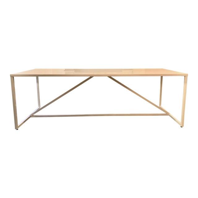 Vintage BluDot Strut Table For Sale