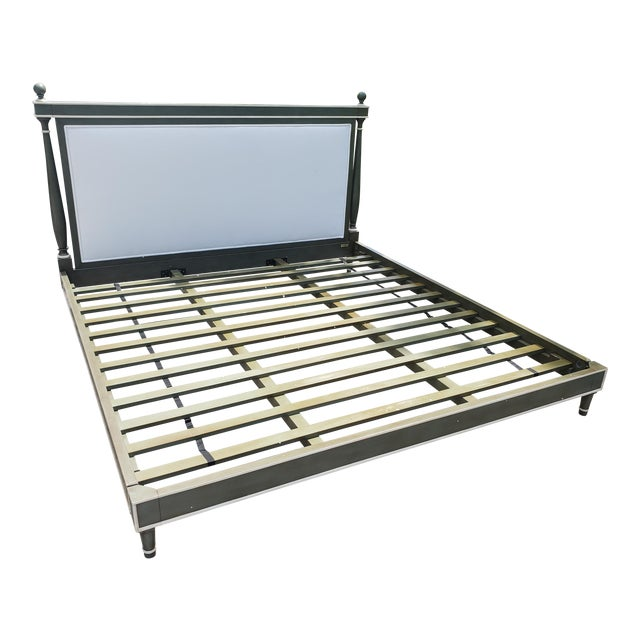 Bunny William's King Size Empire Bed Green/Grey For Sale