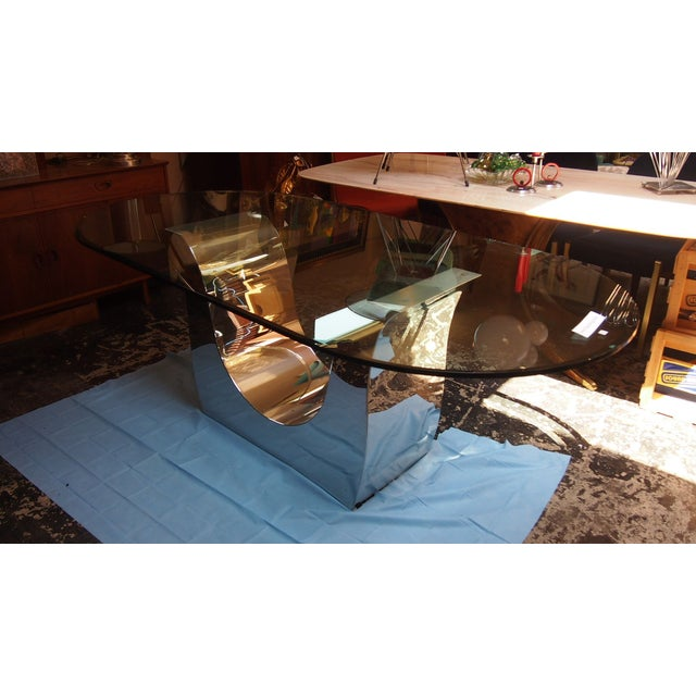 Chrome Shears Tulip Table - Image 2 of 2