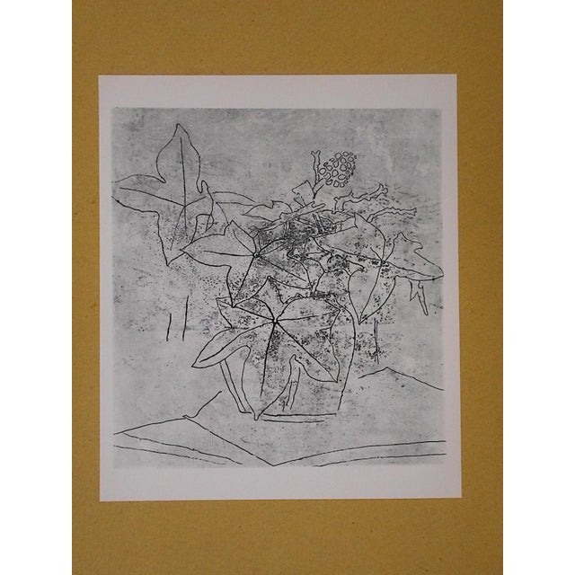 Abstract Vintage Mid 20th C. Modern Lithograph - Georges Braque For Sale - Image 3 of 4