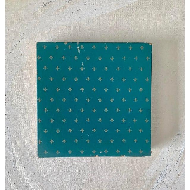 Ceramic Vintage Lenox Monte Carlo Card Theme Plates - Set of 4 For Sale - Image 7 of 9