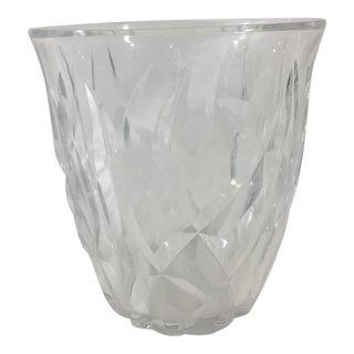 1940's Baccarat Vase For Sale