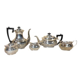 Antique Sheffield Silver Plate Coffee and Tea Service - 6 Pieces For Sale