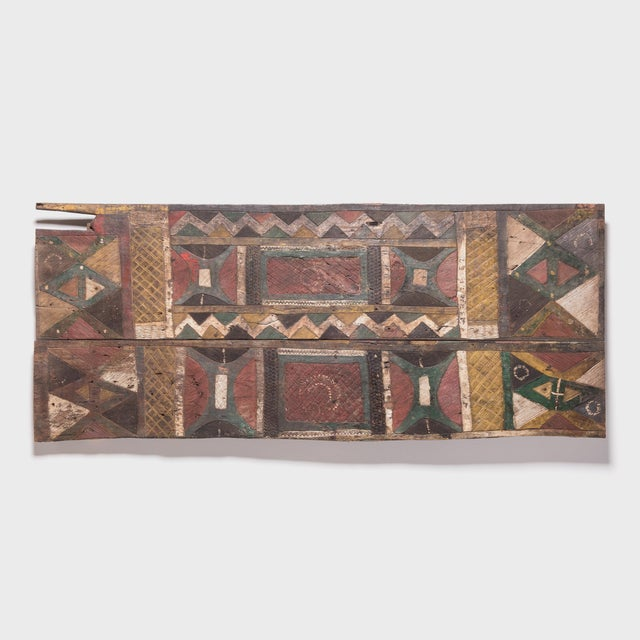 Igbo Painted Uli Door For Sale In Chicago - Image 6 of 6