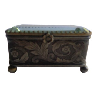 Early 20th Century Mid-Century French Jewelry Box For Sale