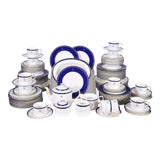 Image of Wedgwood English Porcelain Dinnerware Service for Ten People - 83 Piece Set For Sale
