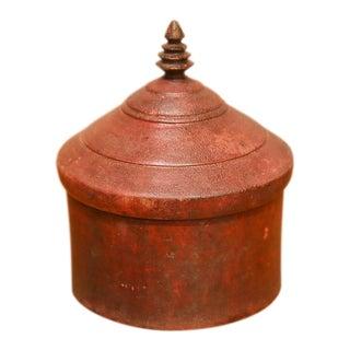 Large Antique Tikka Box For Sale