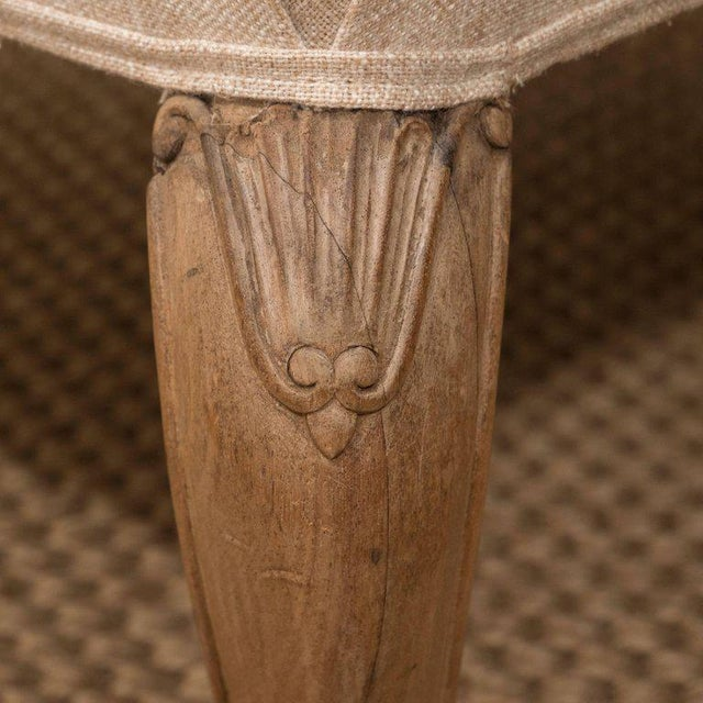 Mid 20th Century Square French Ottoman For Sale In New York - Image 6 of 8