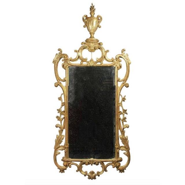 Giltwood George III Giltwood Mirror For Sale - Image 7 of 7