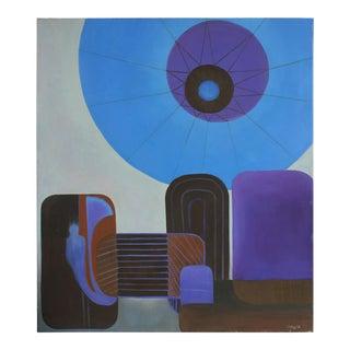 "Urban Helio"" Oil on Canvas, 2013"
