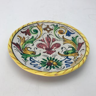 1900s Antique Hand Painted Deruta Majolica Raffaellesco Plate Preview