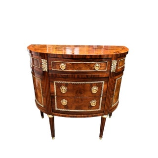 19th Century Empire Demi-Lune Commode For Sale