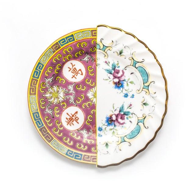 Contemporary Seletti, Eudossia Hybrid Dessert Plate, Set of Six, Ctrlzak, 2011/2016 For Sale - Image 3 of 3