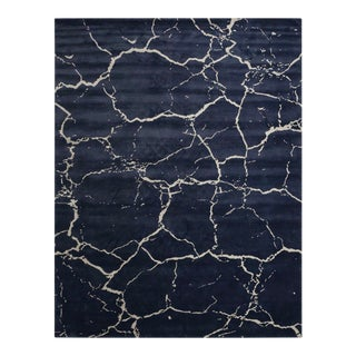 Concrete 9' x 12' Rug - Navy For Sale
