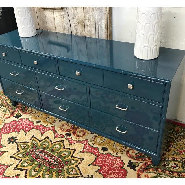 Blue Dresser | High Gloss Blue Dresser - Image 3 of 9