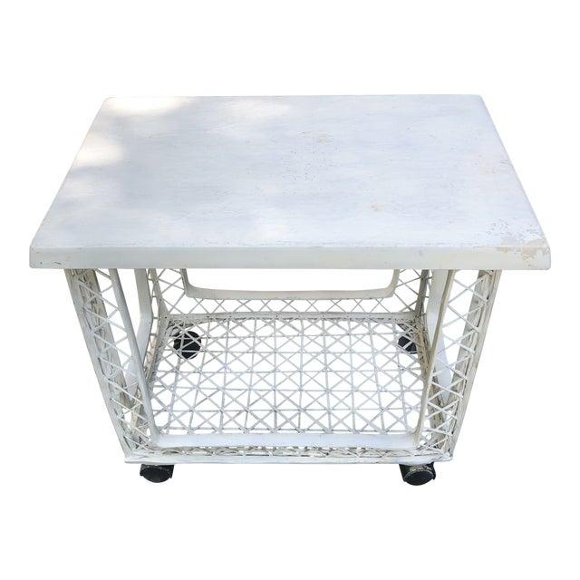 Russell Woodard Outdoor Bar Cart For Sale