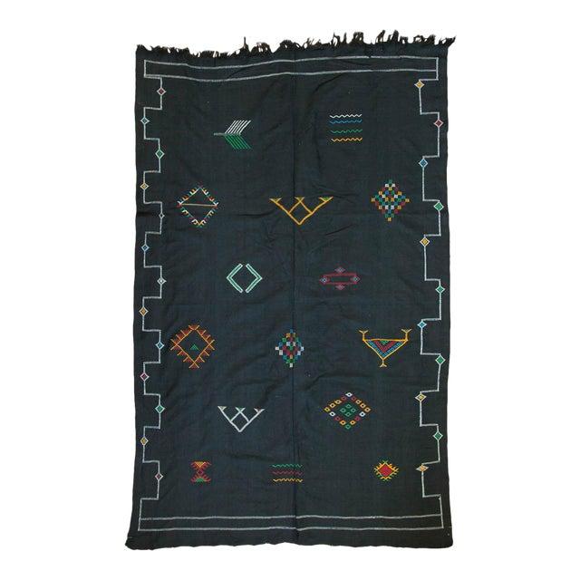 New Kilim Carpet - 6' X 9' For Sale