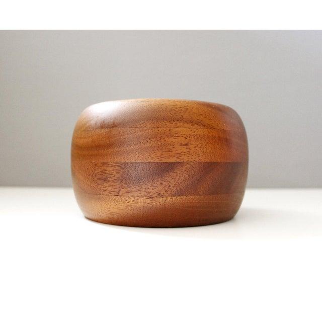 Mid-Century Vintage Teak Bowl - Image 4 of 5