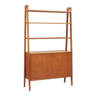 1960's Scandinavian Modern Bookcase by Gillis Lundgren For Sale