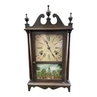 1920 Seth Thomas Concord Mantle Clock Pillar & Scroll Original Finials For Sale
