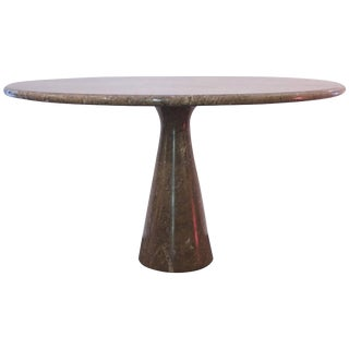 1969 Italian Angelo Mangiarotti Model M1 T70 Skipper Marble Table For Sale