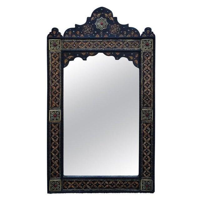Metal Marrakech Rectangular Inlay Mirror For Sale - Image 7 of 7