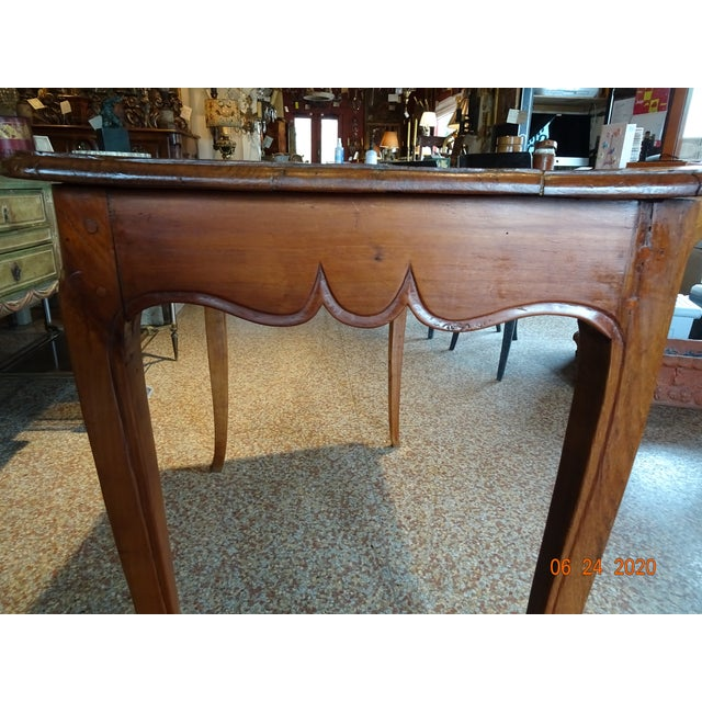 18th Century French Walnut Table For Sale - Image 11 of 13